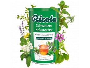 Ricola Švýcarský bylinkový čaj 200g