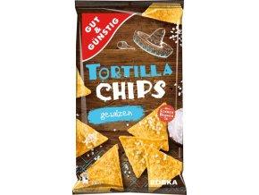 Edeka Tortilla chips, přírodně soleno, 300 g