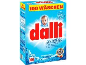 Dalli Sensitiv prací prášek pro citlivou pokožku 7,15 kg, 110 PD