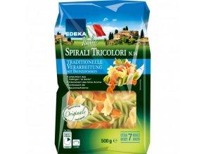 Edeka Těstoviny Fusilli Tricolori 500g