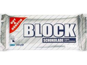 G&G Čokoláda na vaření block 200g