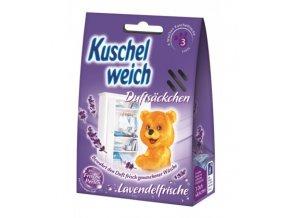 Kuschelweich Lavendelfrische vonné sáčky do skříně 3 ks