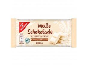 G&G Bílá čokoláda z alpského mléka, 100g