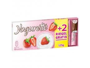 Ferrero Yogurette tyčinky s jogurtovo-jahodovou náplní, 10ks 125g