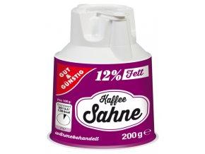 G&G Smetana do kávy s uzávěrem 12% tuku 200g