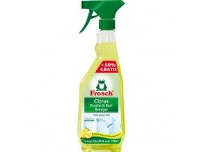 Frosch Citrusový čistič na koupelny a sprchy 500ml + 50% zdarma