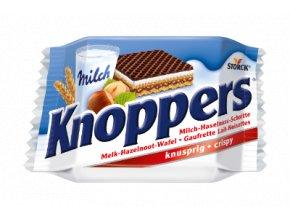 Knoppers Oplatka s mléčným a lískooříškovým krémem, 25g