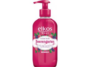 Elkos Beerengarten mýdlo s vůní malin a ostružin 350 ml