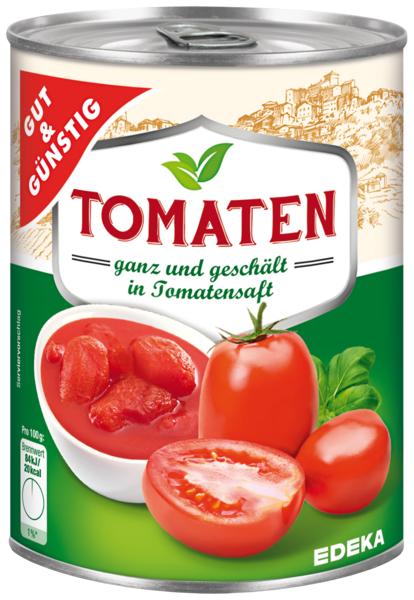 G&G Celá rajčata, loupaná 425ml