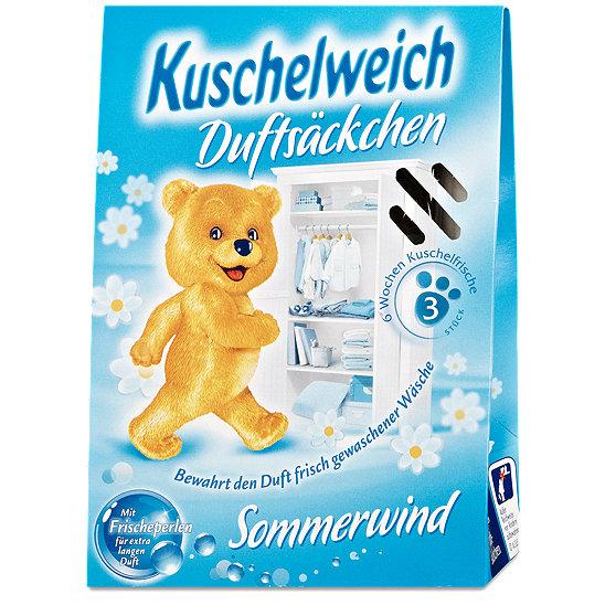 Kuschelweich - vonné sáčky do skříně 3 ks