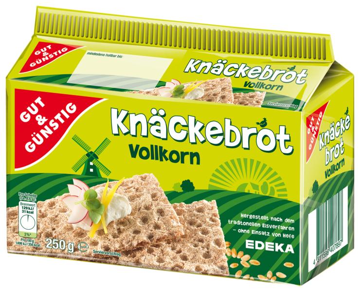 G&G Knäckebrot celozrnný žitný 250g