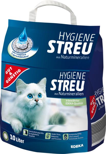 G&G Stelivo pro kočky, hygienické z přírodních minerálů 10l