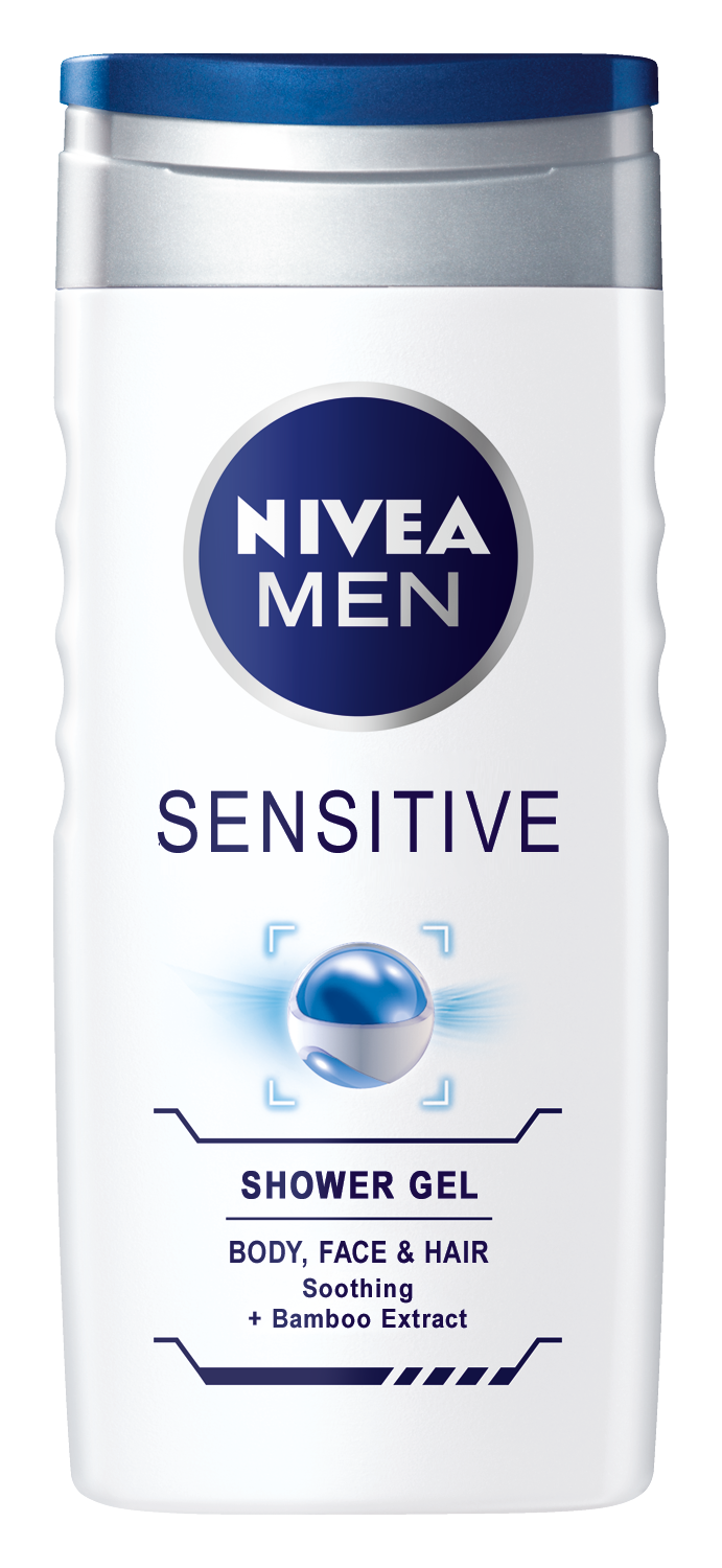 Nivea Men Sensitive sprchový gel 250 ml