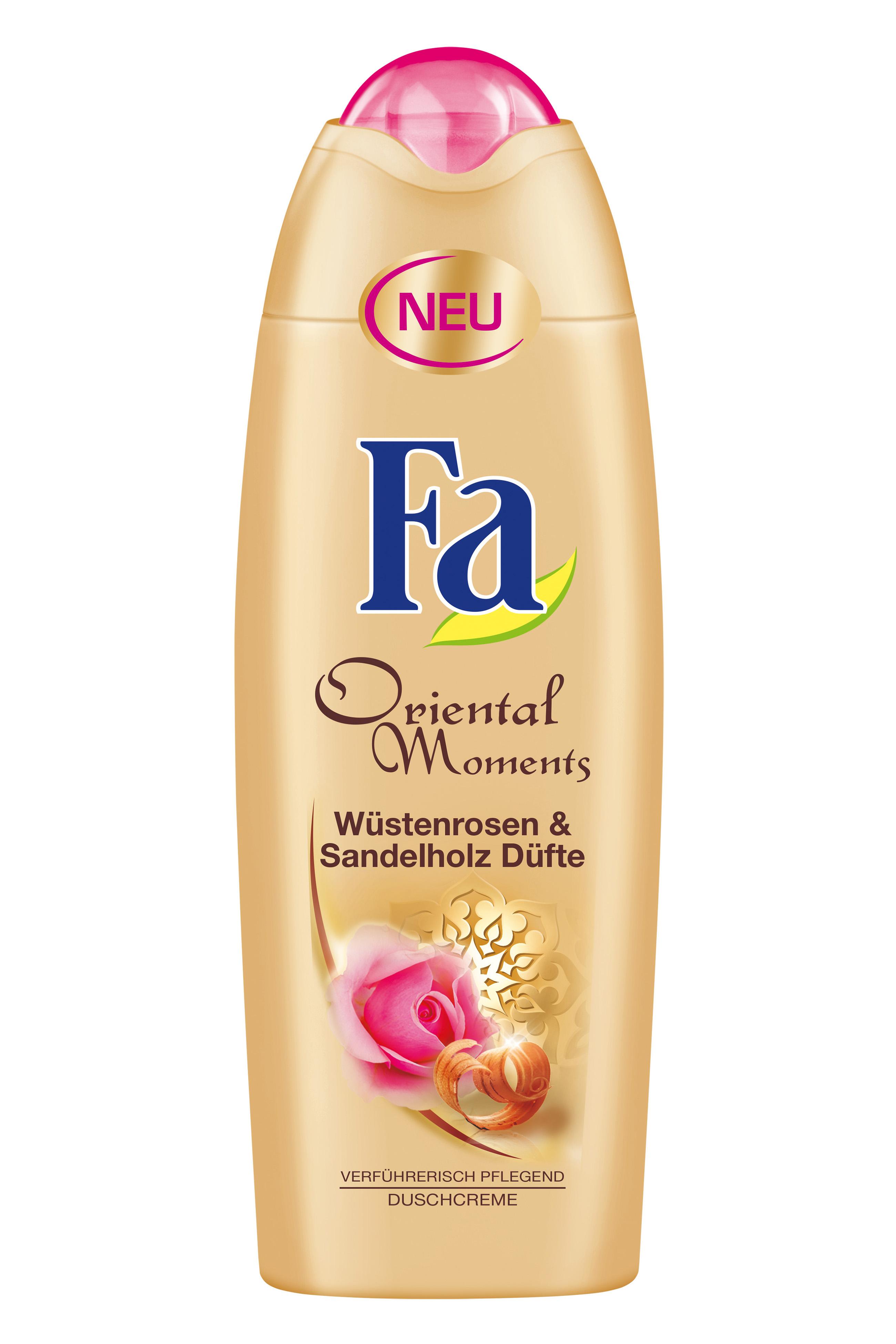 Fa Oriental Moments Desert Rose & Sandalwood Scents sprchový gel 250 ml