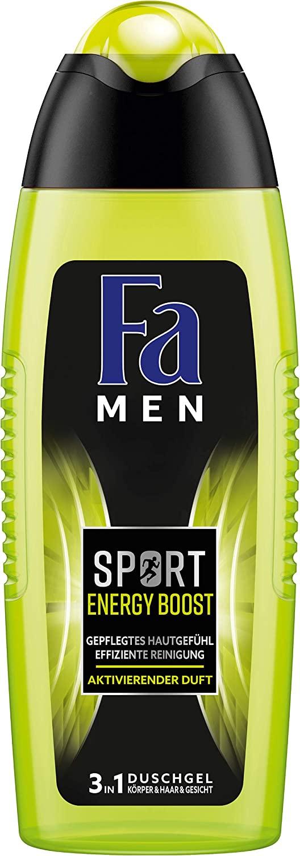 Fa Men Sport Energy Boost sprchový gel 250 ml