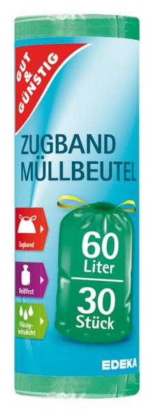G&G Pytle na odpad - zatahovací 60 l, 30 ks