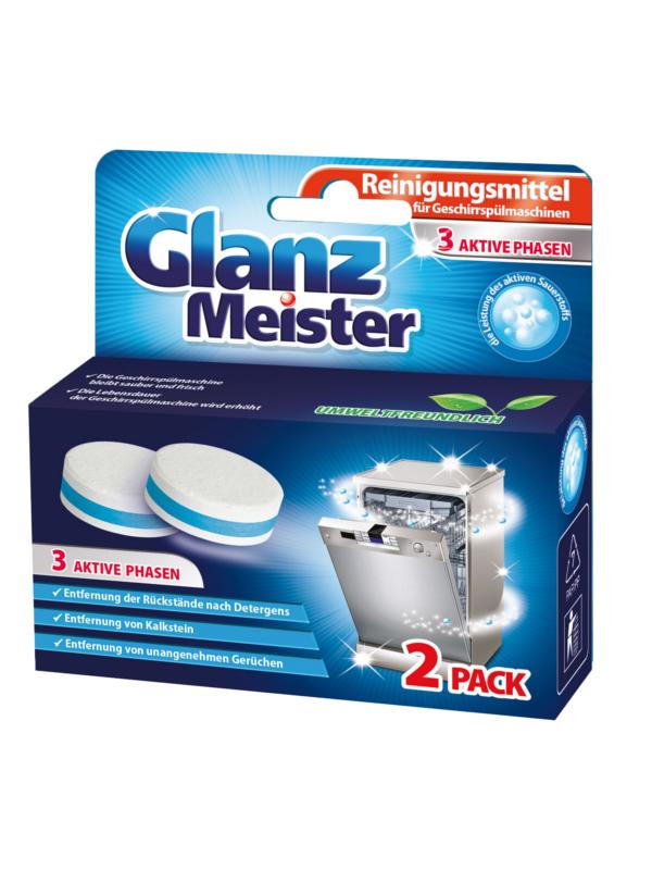 Waschkönig Glanz Mesiter Čistící tablety do myčky 2ks, 80g