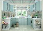 Kuchyně na míru PROVENCE světle modrá