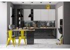 Kuchyně na míru VALERIA černá stripe