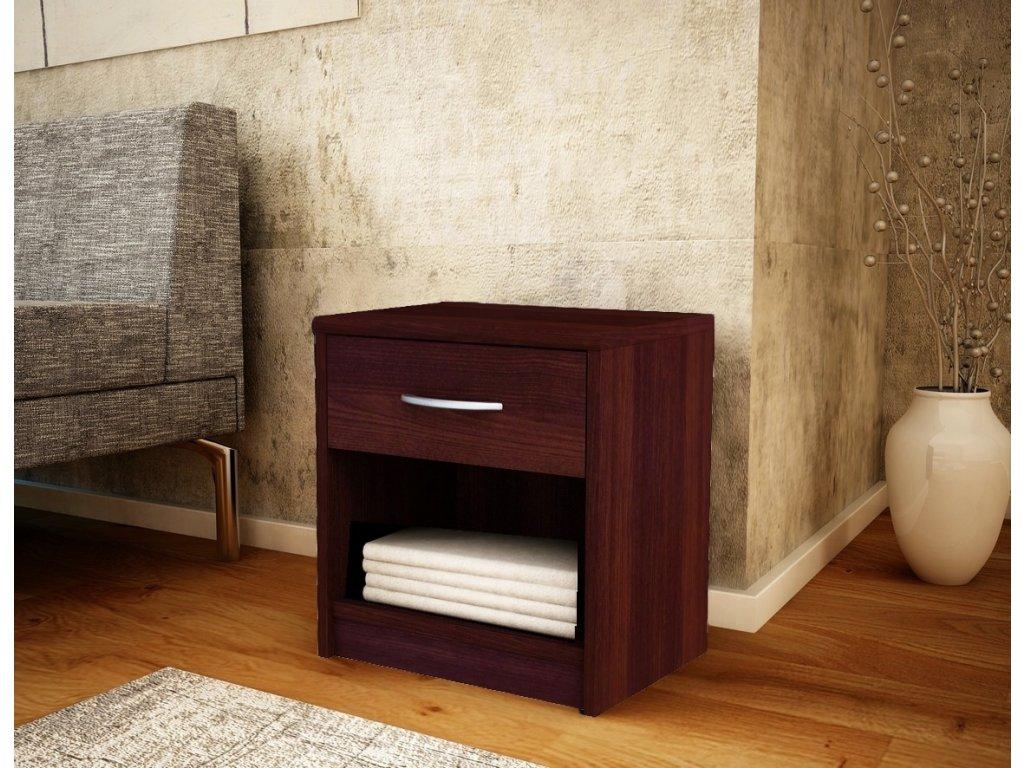 Noční stolek MARK 026 wenge