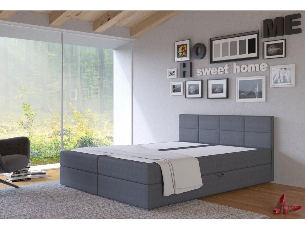Postel s matrací s ÚP TISA 160x200cm (PUR - I96)