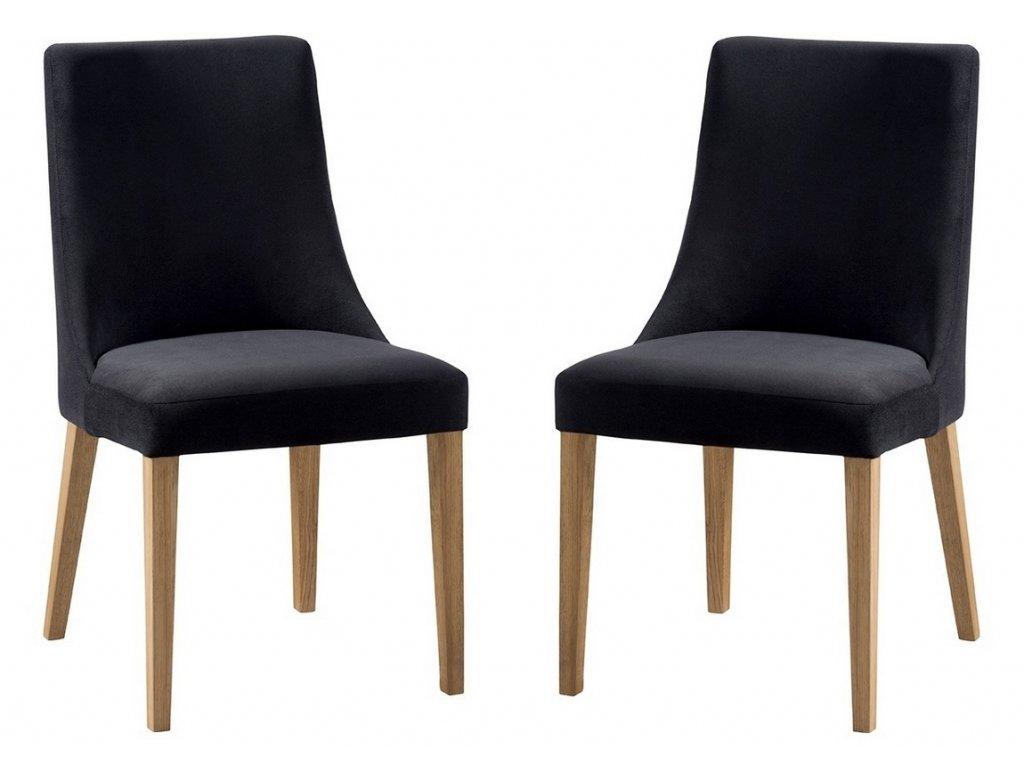 Jídelní čalouněná židle FARINI (2ks) Carabu výběr barev