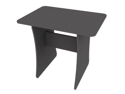 Jídelní stůl DOMINO šedý grafit