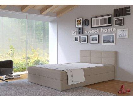 Postel s matrací s ÚP TISA 140x200cm (PUR - I23)