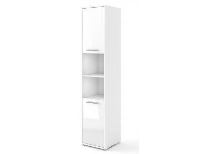 Skříňka 2D CONCEPT PRO CP-08 bílá/bílý lesk