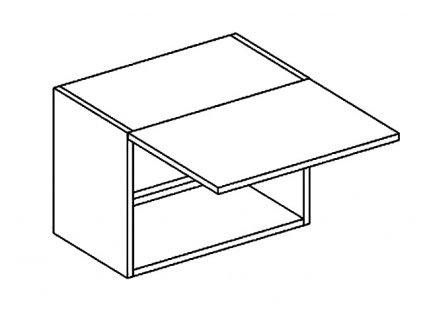 WO 50/30 skříňka nad digestoř PREMIUM de LUX olše