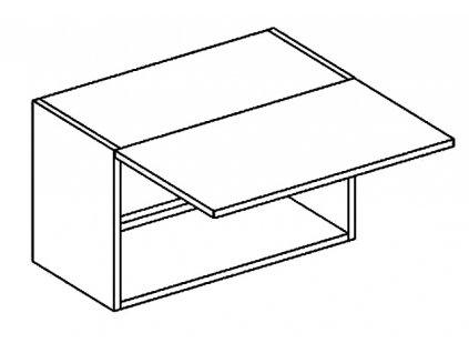 WO 60/35 skříňka nad digestoř PREMIUM hruška
