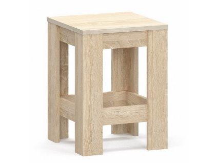 Jídelní židle 2ks NAPOLEON sonoma