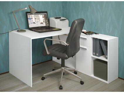 Pracovní stůl LAIT bílá