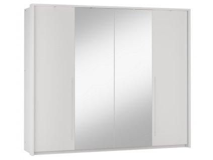 Šatní skříň EDMONTON 255 bílá/bílá