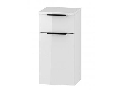 D30S/1 P/L s PD skříňka spodní LONGFORD bílá lesk