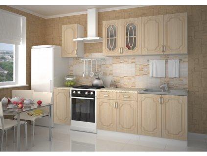 Kuchyně ANASTASIA 200 s D40 bříza
