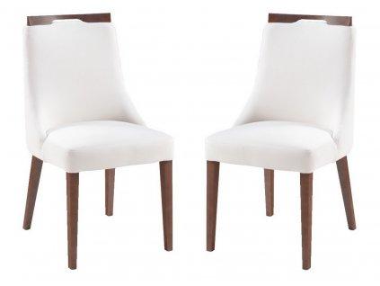 Jídelní čalouněná židle ZITA (2ks) Carabu výběr barev