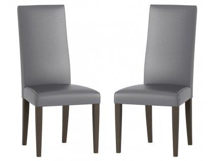 Jídelní čalouněná židle VOLANO 141 (2ks) wenge