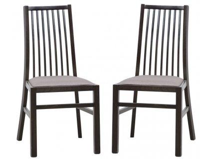 Jídelní čalouněná židle VOLANO 101 (2ks) wenge
