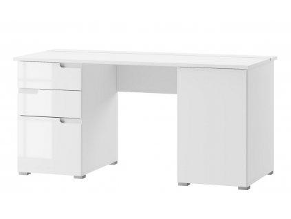 Pracovní stůl SELENE 15 bílá lesk
