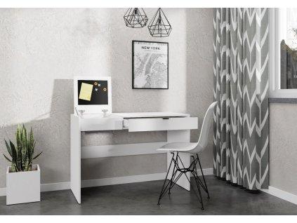Pracovní stůl SONORA bílá