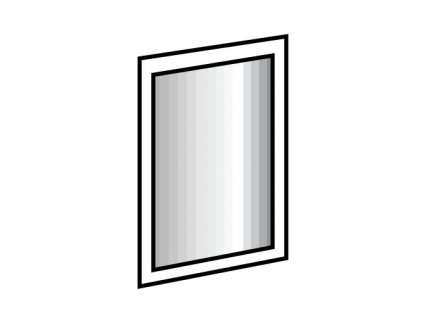 Zrcadlo LIPTON 919 šedá grafit