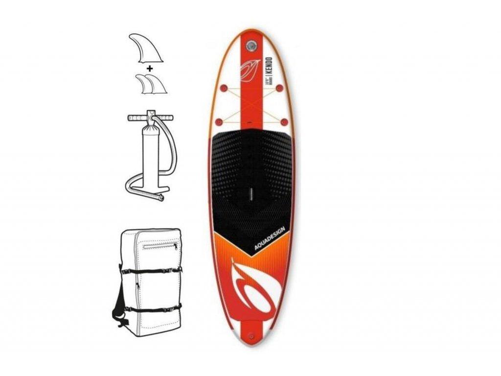 paddleboard aquadesign kendo 10 6