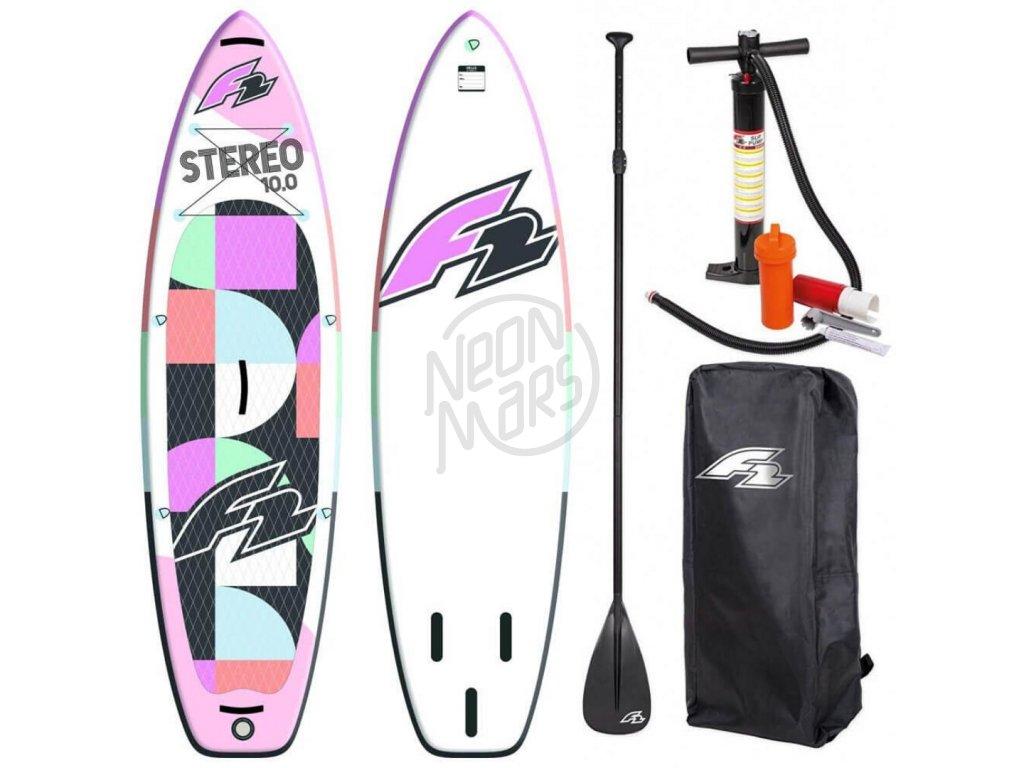 paddleboard f2 stereo woman pink 10