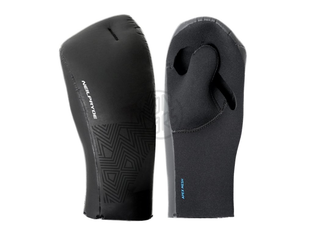 neoprenove rukavice neilpryde split finger mitt open palm