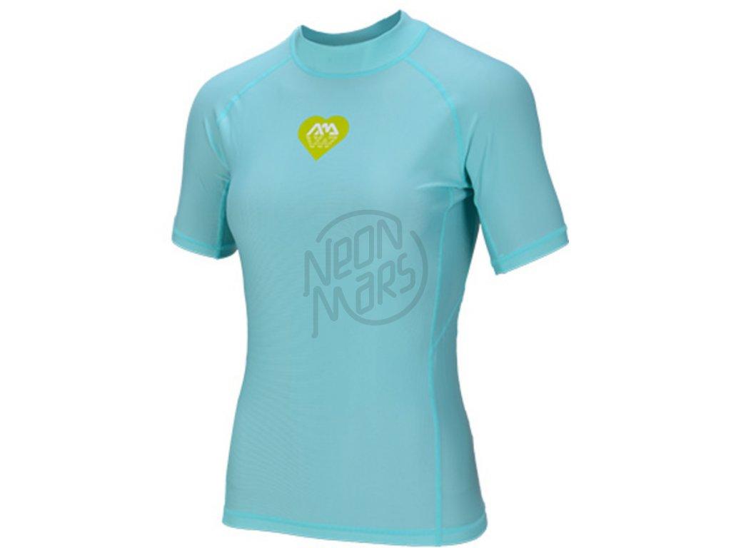 Dámské lykrové tričko Aqua Marina Alluv modré