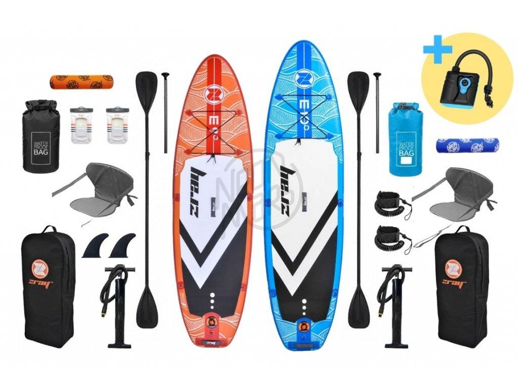 Paddleboard Zray E9 + E10  Paddleboard Zray E9 + E10