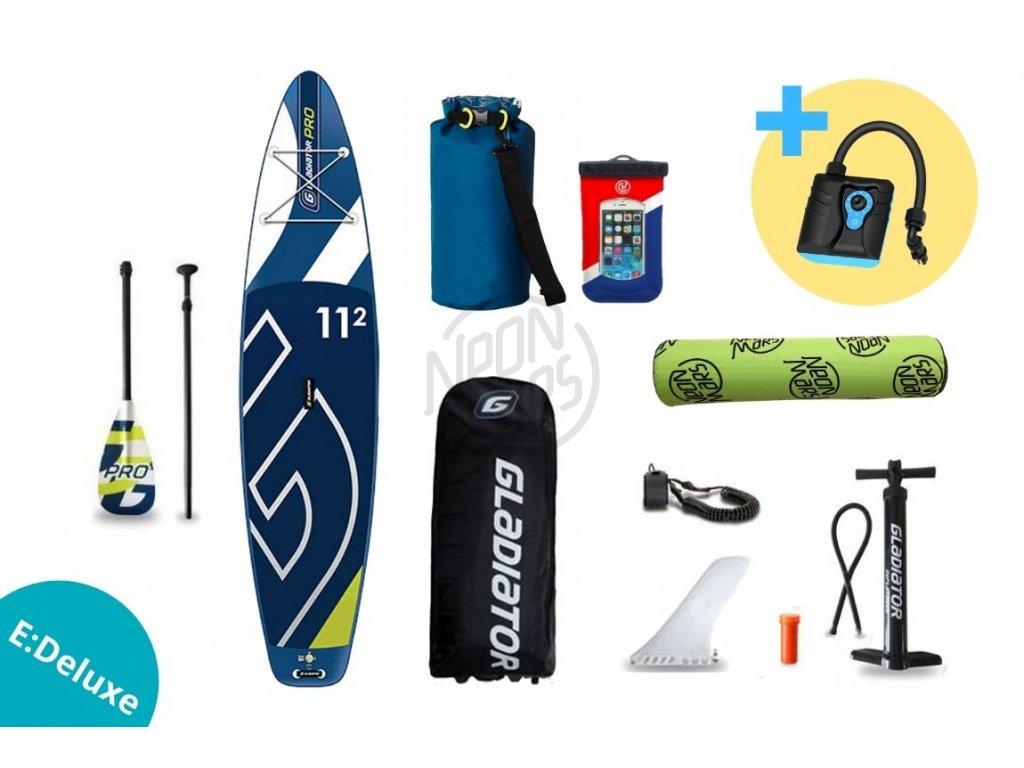 paddleboard gladiator PRO 11,2 set edeluxe
