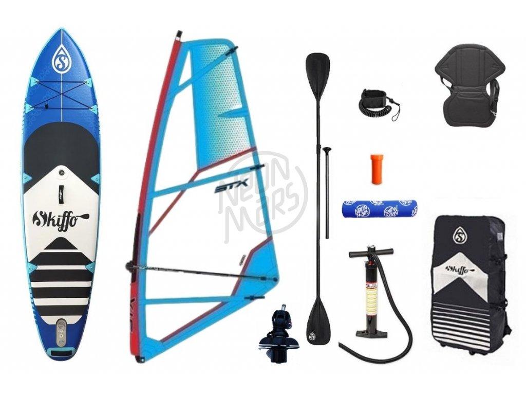 paddleboard skiffo ws combo windsurfovy set