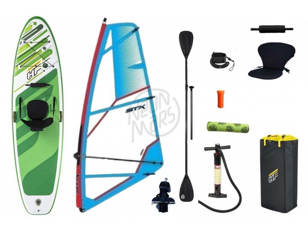 Windsurfový set Hydro-Force Freesoul + STX Powerkid rig 4.0